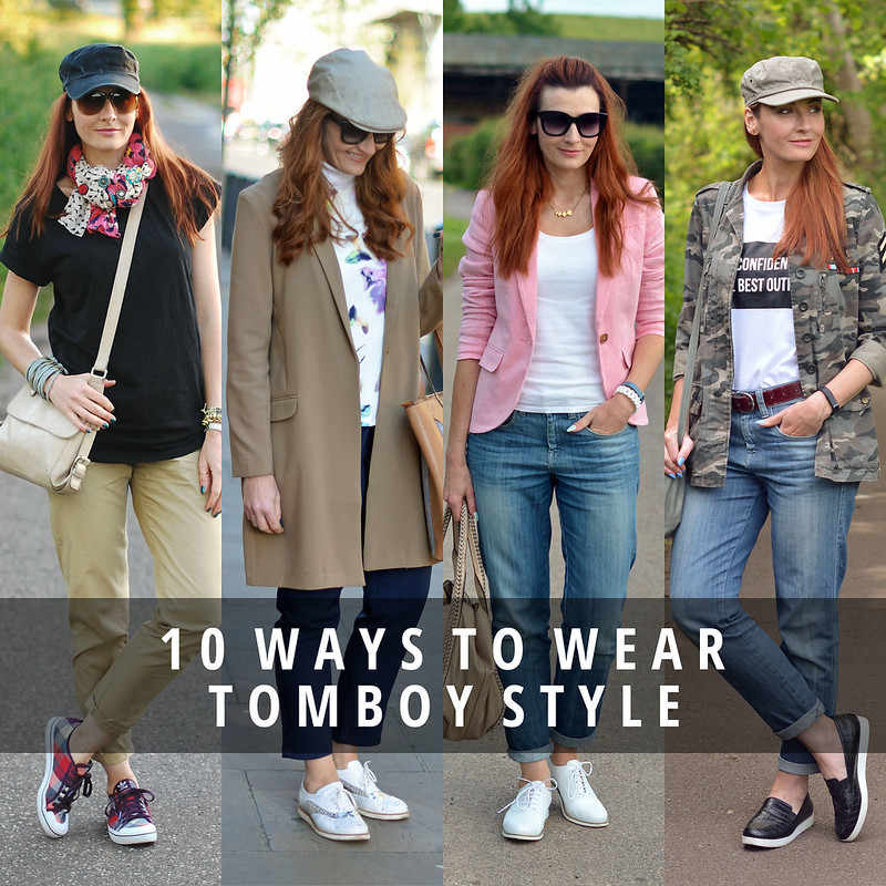 10 ways to wear tomboy style | Not Dressed As Lamb