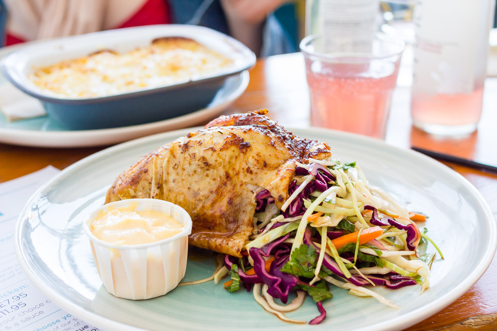 margate roost chicken lunch
