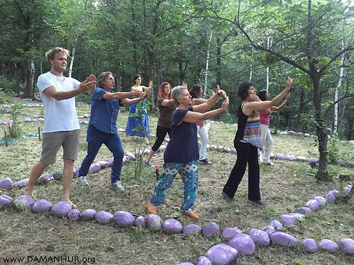 Sacred Dance moves in the Sacred Woods