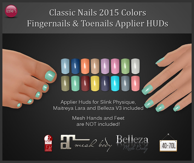 TDRF (Classic Nails Appliers 2015 Colors)