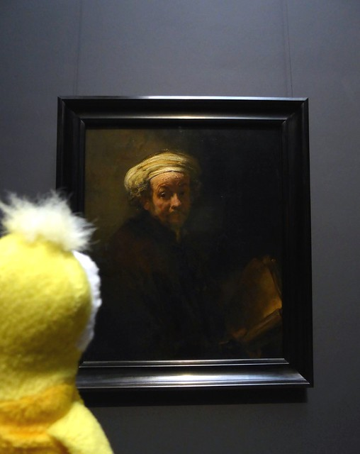Swami and Rembrandt, Rijks Museum, Amsterdam