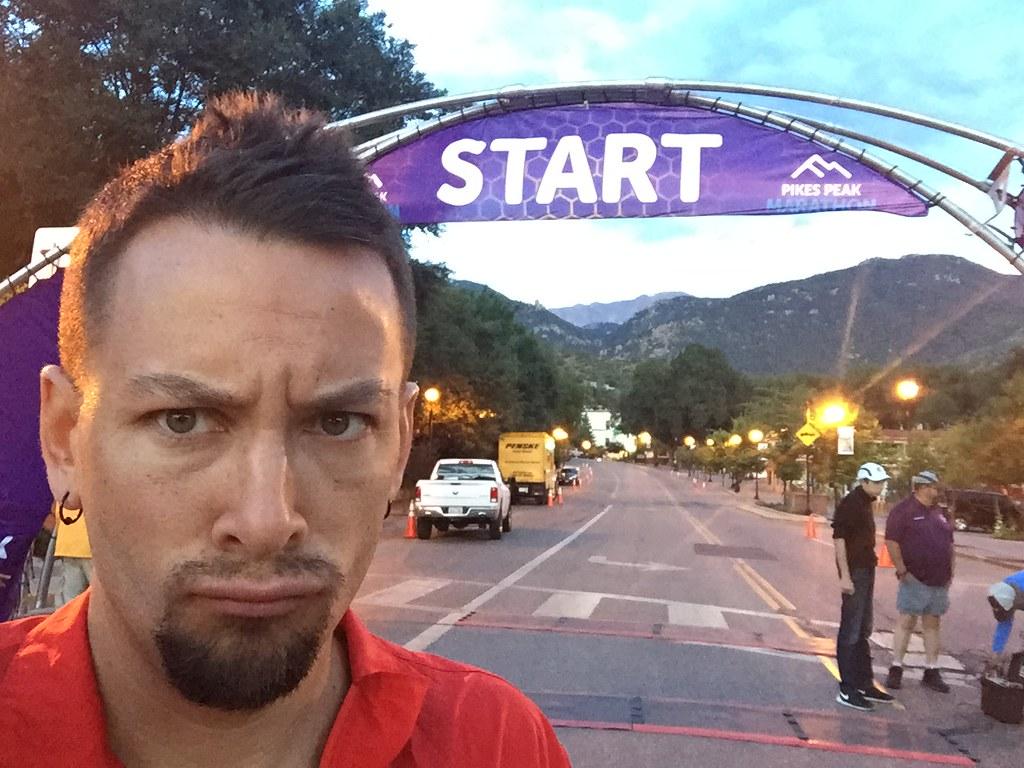 Pikes Peak Marathon 2015