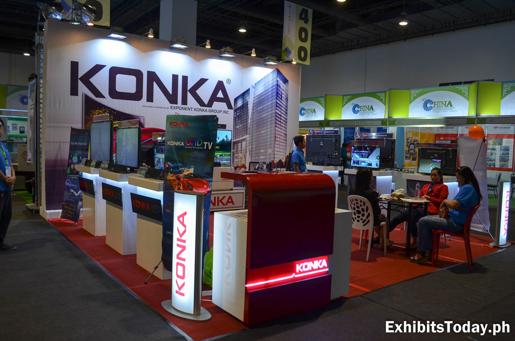 Konka Exhibit Booth