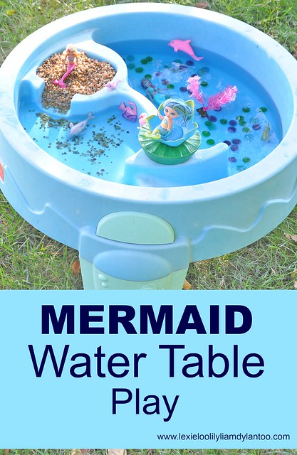 Mermaid Water Table Play