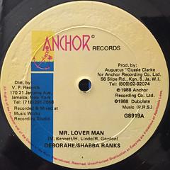 SHABBA RANKS:MR.LOVERMAN(LABEL SIDE-A)