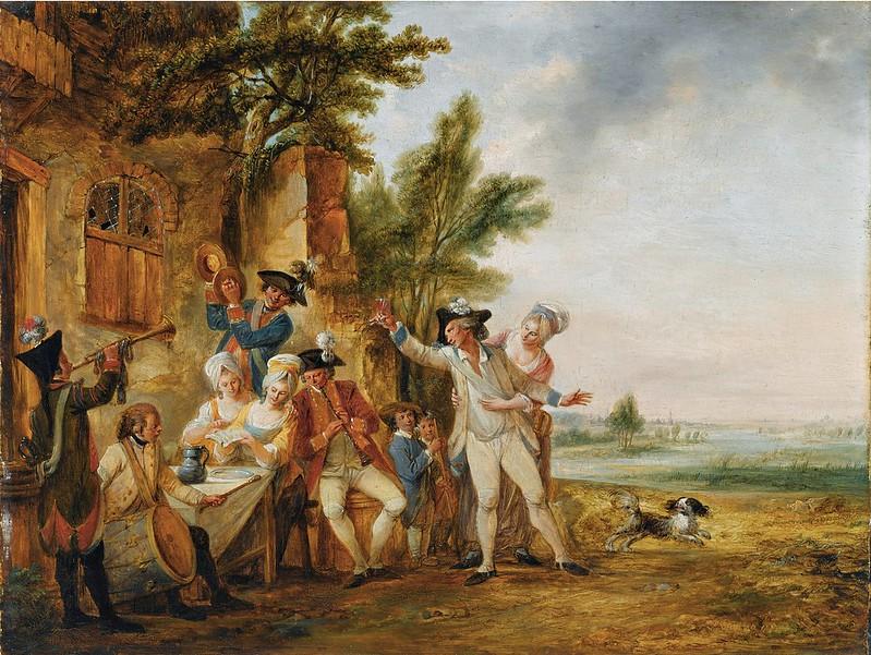 Louis Joseph Watteau, dit Watteau de Lille - La Musique Militaire