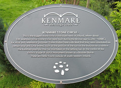 Photo of Kenmare Stone Circle grey plaque