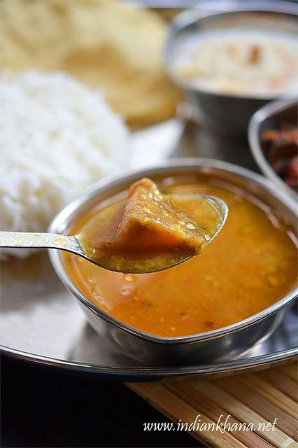 Kathirikai-Brinjal-Sambar