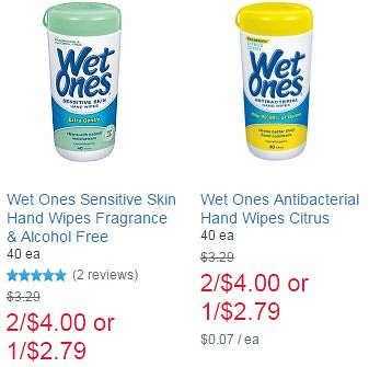 Wet ones printable coupon 2018