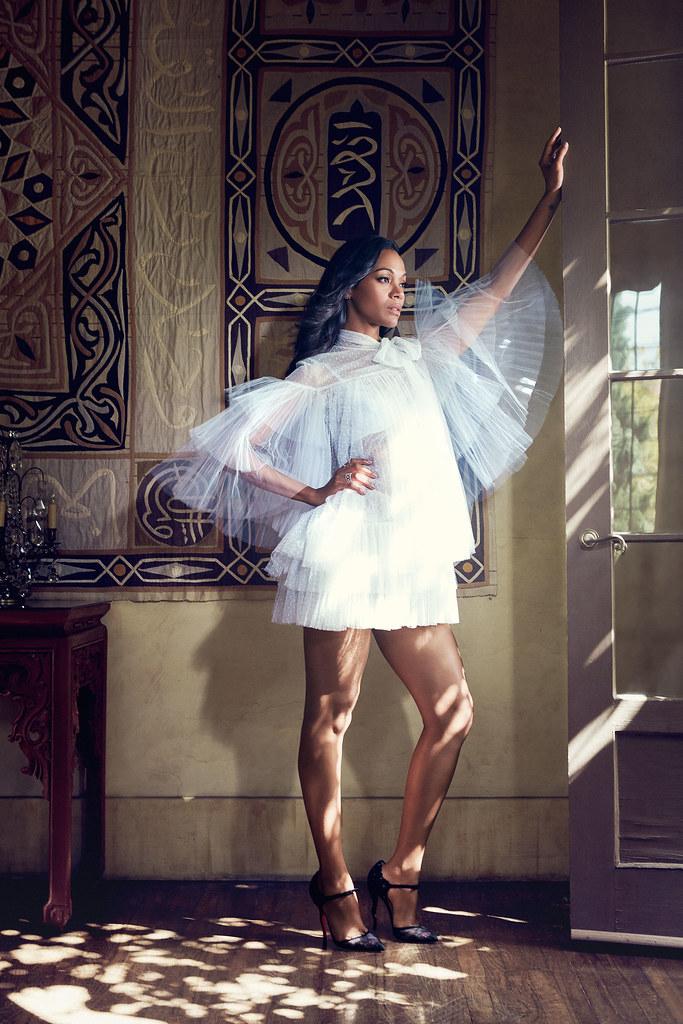 Зои Салдана — Фотосессия для «Latina» 2015 – 3