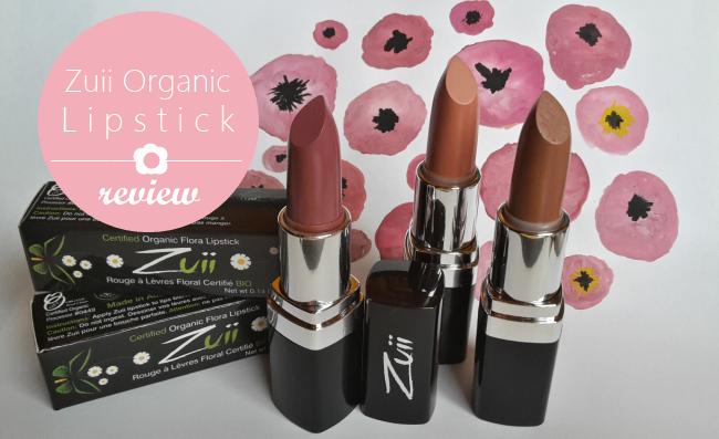 Zuii Organic Lipstick Review