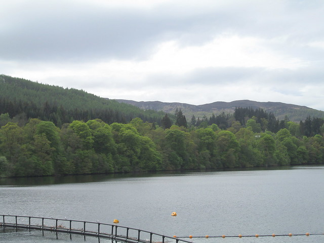 Loch Faskally from Pitlochry Dam