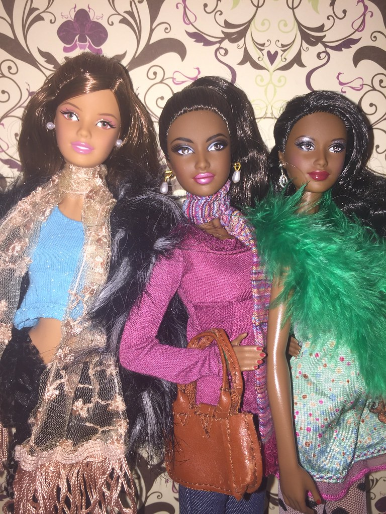 2015 Hispanic Birthday Wishes Barbie AA Avon Rose Splendor And 2012 Holiday