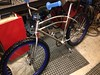Fillet brazed Colson inspired Morrow coaster larkspur bomber.
