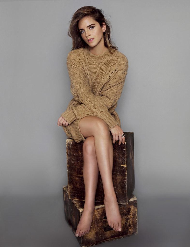 Эмма Уотсон — Фотосессия для «Elle» ES 2015 – 1