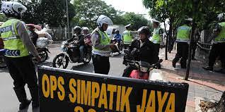 Contoh Operasi Simpatik Jaya Kendaraan Bermotor
