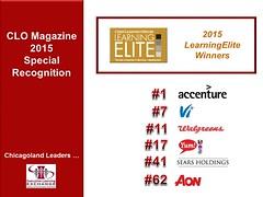 2015 LearningElite2015 Winners