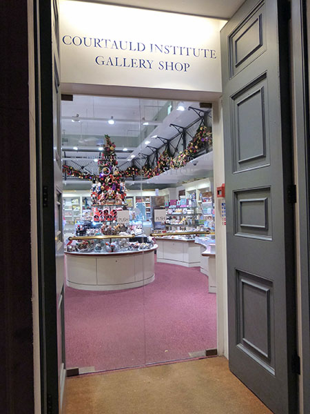 courtauld institute gallery shop