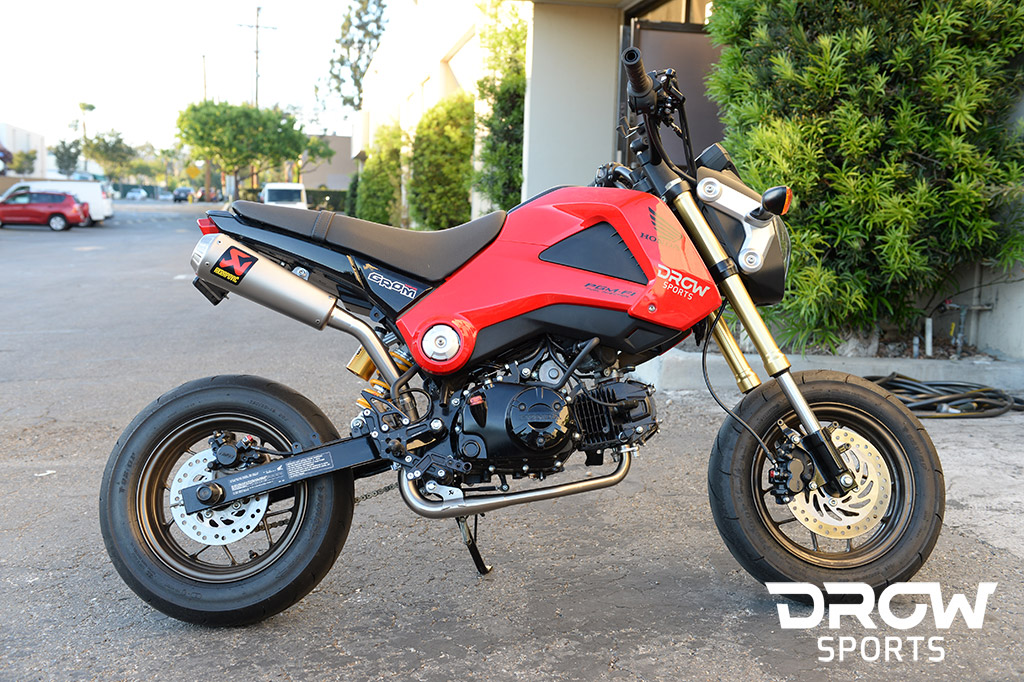 Drowsports Honda Grom 125 Track Build