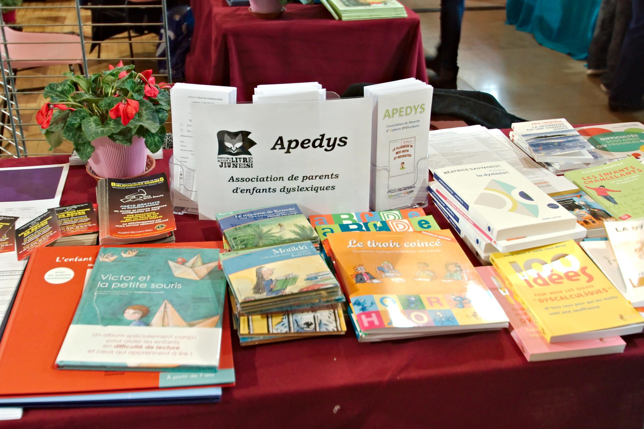 Apedys, association de parents d'enfants dyslexiques