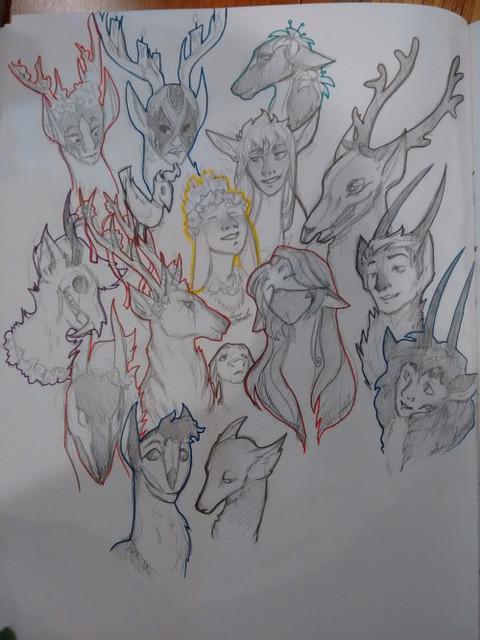 Tigerart doodles
