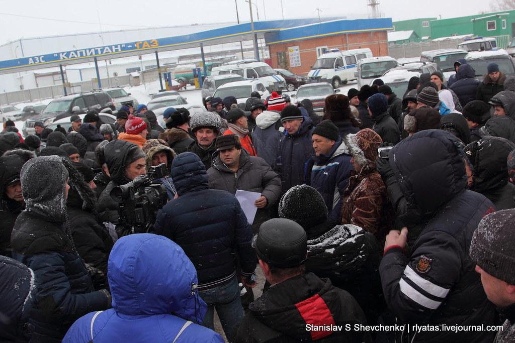 """Новосибирск протестует: """"З*е*ал ваш Путин со своей Сирией. Сколько у него власти, а нихрена нормального сделать не может."""""""