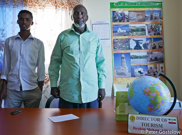 At Somaliland's Ministry of Tourism