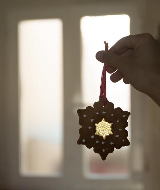 Galletas para decorar el árbol