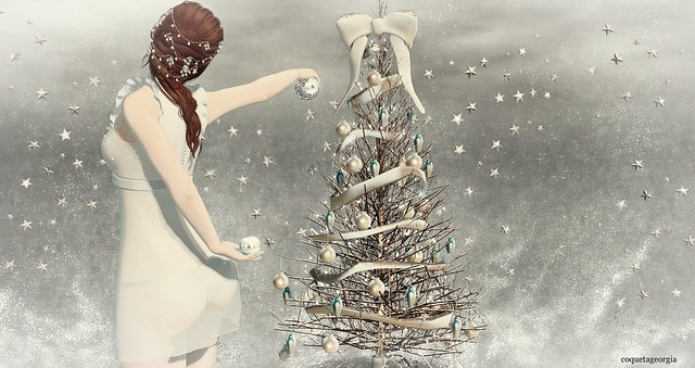My christmas tree lit up like a star when I see my christmas tree can loved ones be far?...♪ ♫