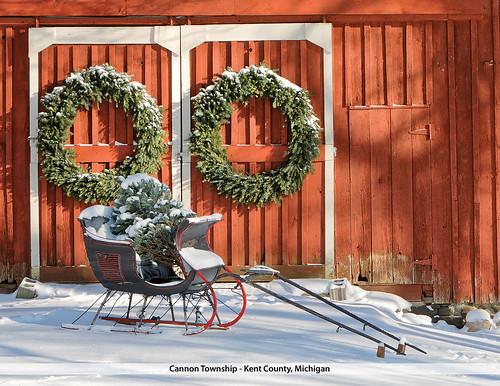Christmas Sled 3246-14