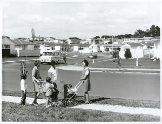 Housing in Waiuku, Auckland (1970)