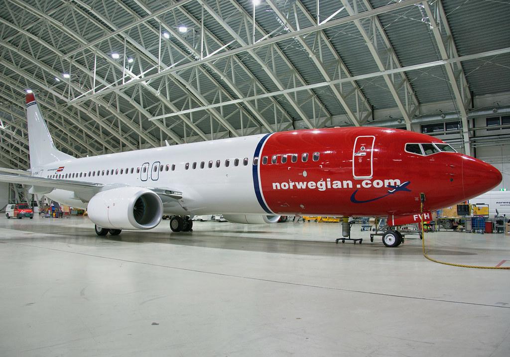 EI-FVH - B738 - Norwegian Air International