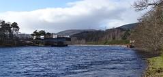 River Ness bridge construction