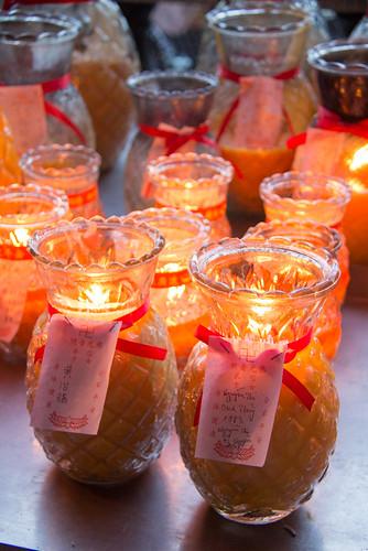 candles @ Kek Lok Si Temple