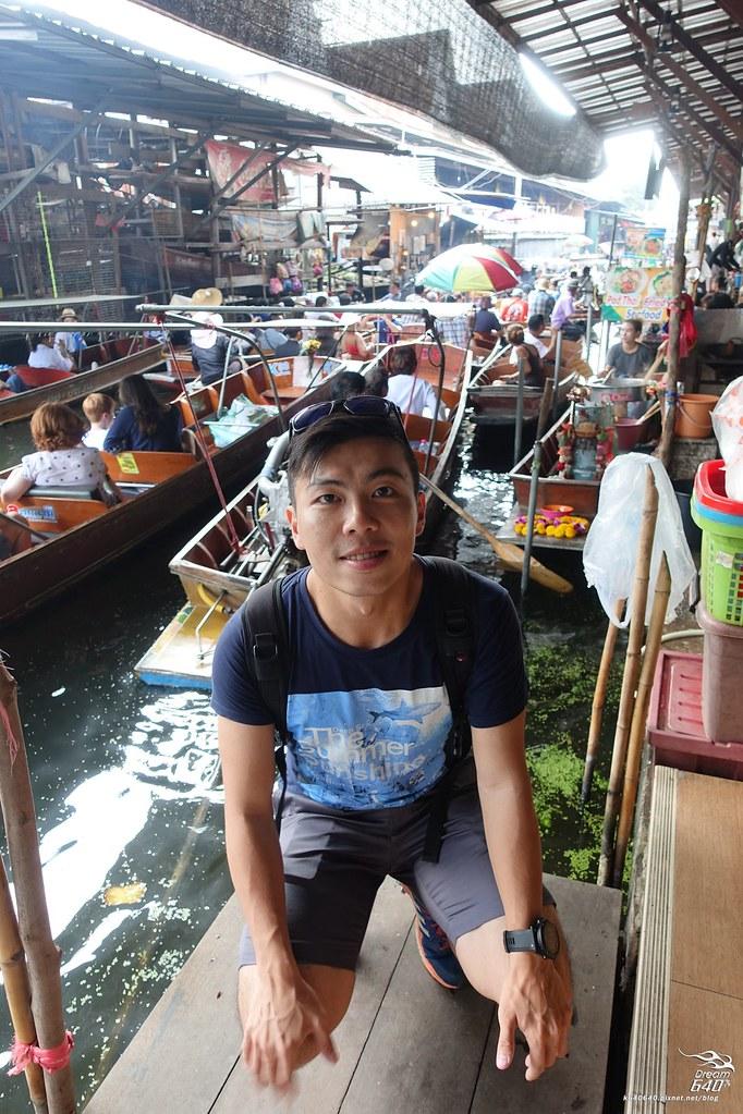 泰國曼谷-水上市場+美功鐵道市集+河濱夜市-08