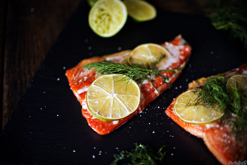 Cedar Grilled Salmon \\ GirlCarnivore.com
