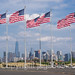 United States Flag Plaza, Liberty State Park, New Jersey