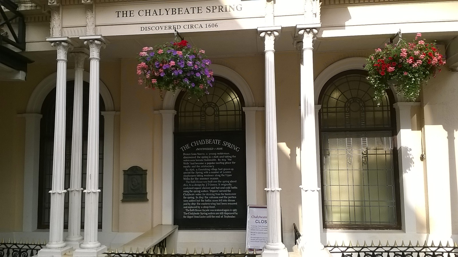 The Chalybeate Spring Pantiles, Tunbridge Wells