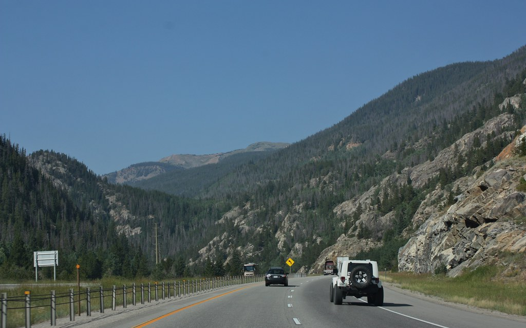 Colorado driving to Leadville