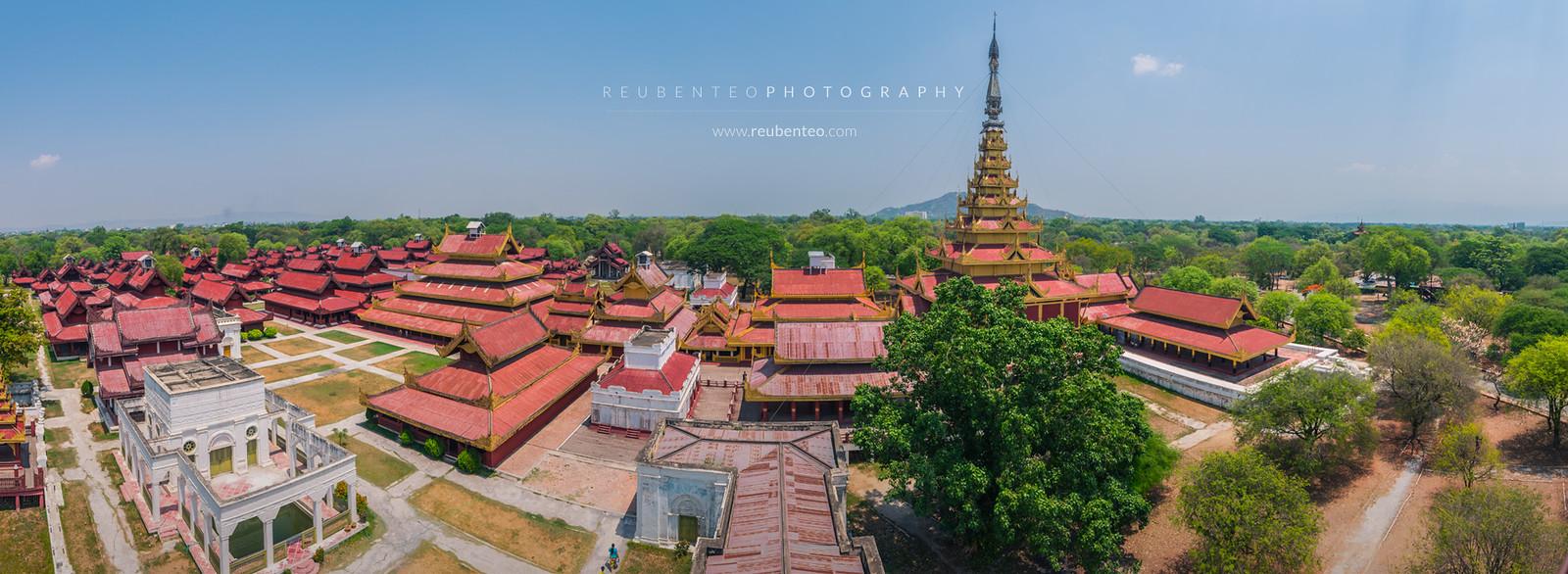 Mandalay Palace Interior