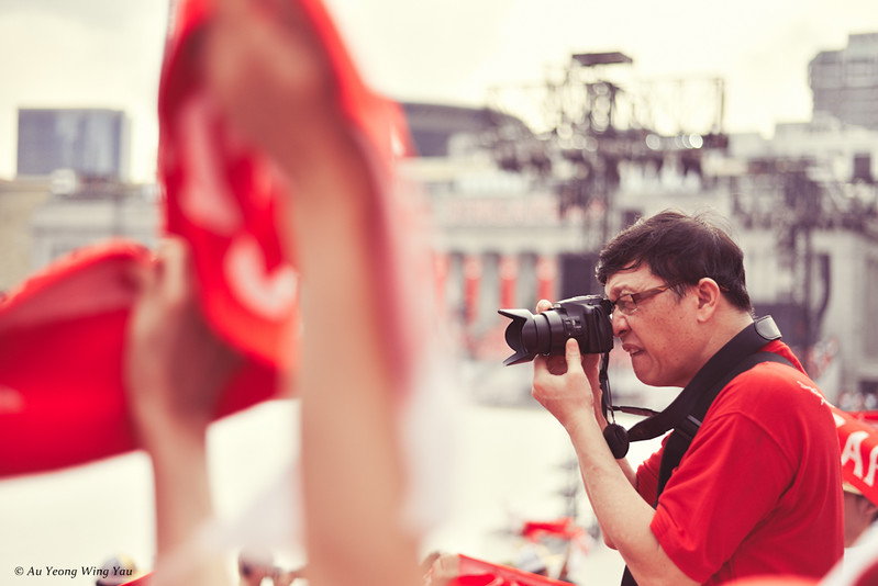 Photographer In Singapore National Day Celebration