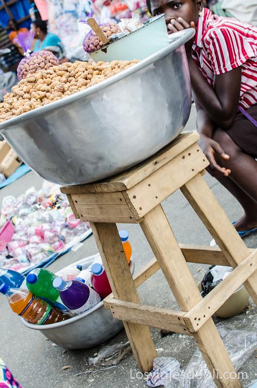 sin mirar por el visor en Lomé