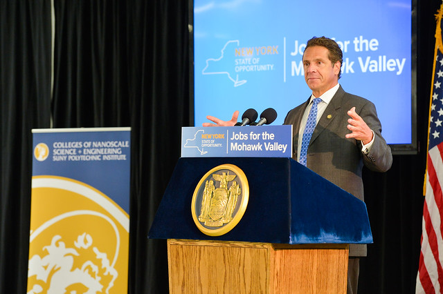 Governor Andrew Cuomo launches next phase of Nano Utica initiative.