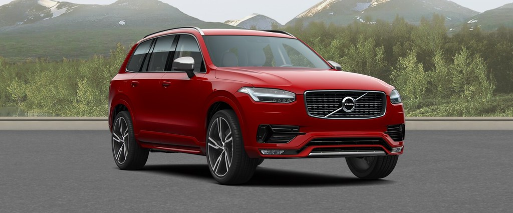 2017 Volvo Xc90 Red 200 Interior And Exterior Images