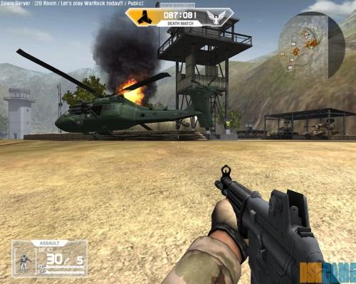War Rock elicoptero