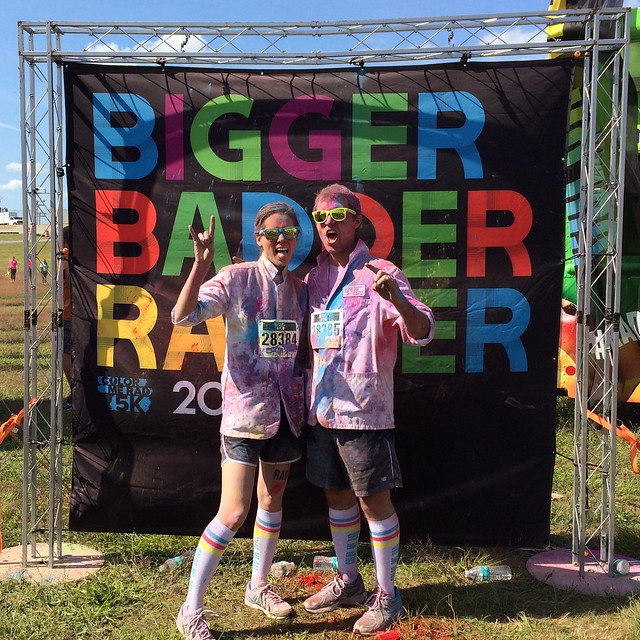 (Formerly) white coats in honor of @gsmith001. #colormerad #rad #partay