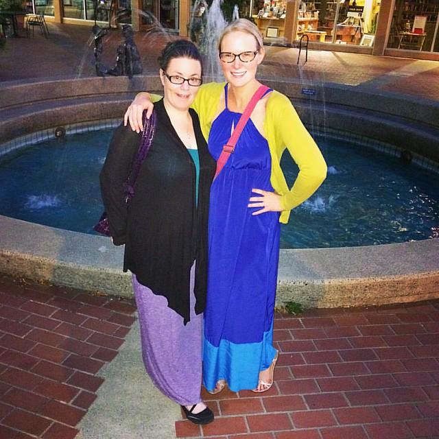 With my Birthday Broad, @corinne_spoja 💖💕✨