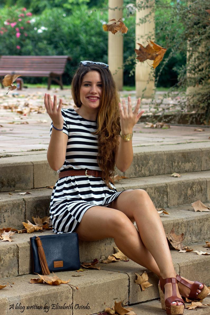 striped dress STRADIVARIUS HEELSANDROSES MARYPAZ (1)
