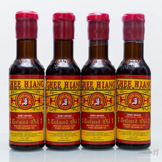 Ghee Hiang Teel Seed Oil