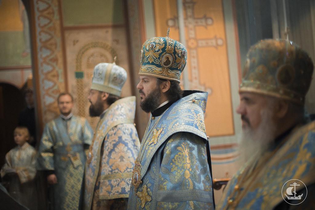 21 сентября 2015, Литургия в Софийском соборе Великого Новгорода / 21 September 2015, Liturgy in the Saint Sophia Cathedral of Veliky Novgorod